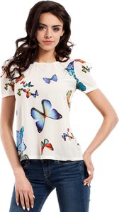 Bluzka MOE z okrągłym dekoltem