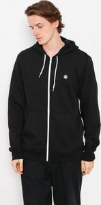 Czarna bluza Element z bawełny w młodzieżowym stylu