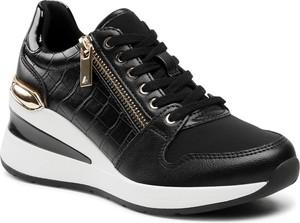 Buty sportowe Aldo ze skóry ekologicznej sznurowane