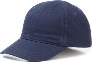 Niebieska czapka Lacoste