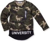 Koszulka dziecięca ombre clothing z bawełny w street stylu