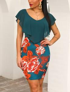 Sukienka Kendallme mini dopasowana w stylu casual
