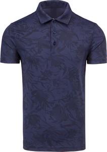 Koszulka polo Chervo z tkaniny z krótkim rękawem