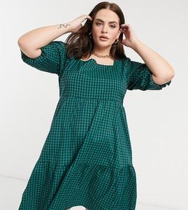 Zielona sukienka Glamorous Curve