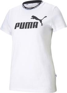 Bluzka Puma z okrągłym dekoltem z krótkim rękawem