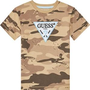 Brązowa koszulka dziecięca Guess