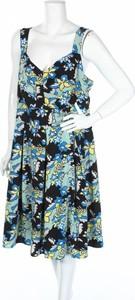 Sukienka Piper midi z dekoltem w kształcie litery v