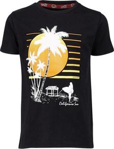 Czarna koszulka dziecięca Up2glide