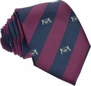 Krawat republic of ties z jedwabiu w stylu casual