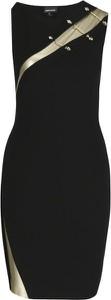 Sukienka Just Cavalli ołówkowa z okrągłym dekoltem bez rękawów