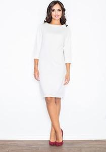 3aed4c69d7 stylizacje sukienki. Sukienka Figl z długim rękawem midi