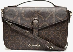 Brązowa torebka Calvin Klein duża