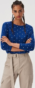 Niebieski sweter Sinsay w stylu casual