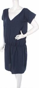 Granatowa sukienka Awama mini