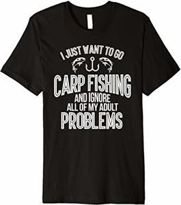 T-shirt Gone Fishing Shirt w młodzieżowym stylu