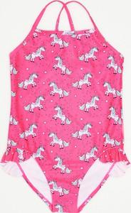 Różowy strój kąpielowy Sinsay