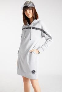Sukienka Monnari mini z dekoltem w kształcie litery v z bawełny