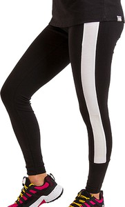 Czarne legginsy The North Face z bawełny