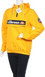 Żółta kurtka Ellesse w sportowym stylu krótka