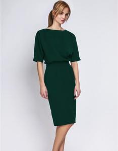 Zielona sukienka Lanti ołówkowa midi