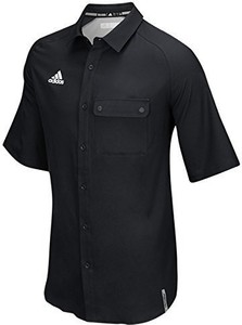 94082012c0c0a Czarna koszula Nike w sportowym stylu z klasycznym kołnierzykiem z krótkim  rękawem