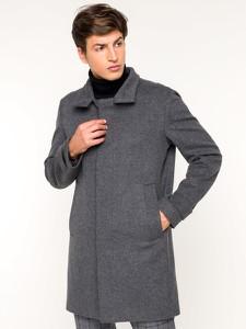 Granatowy płaszcz męski Strellson