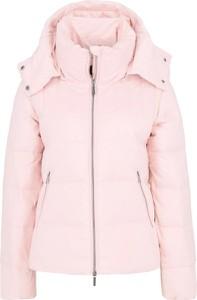 Różowa kurtka Armani Jeans w stylu casual