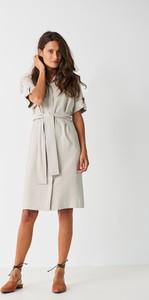 5fc19e8df2 sukienka limonkowa simple - stylowo i modnie z Allani