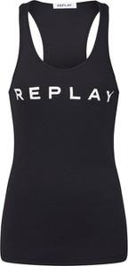 Czarna bluzka Replay