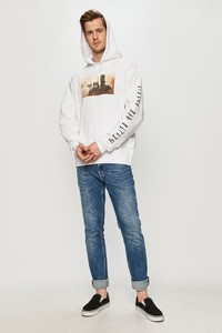 Bluza Element z nadrukiem z bawełny w młodzieżowym stylu
