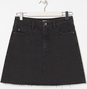 Czarna spódnica Sinsay z jeansu