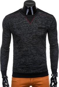 Czarna bluza Edoti w stylu casual