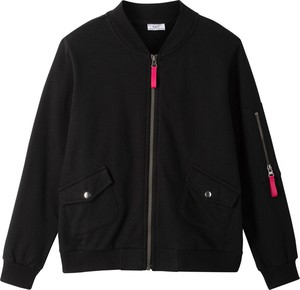 Czarna kurtka dziecięca bonprix bpc bonprix collection