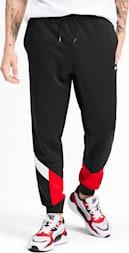 Spodnie sportowe Puma z dzianiny z nadrukiem