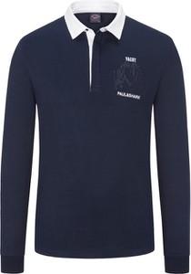 Niebieska bluza Paul & Shark z bawełny