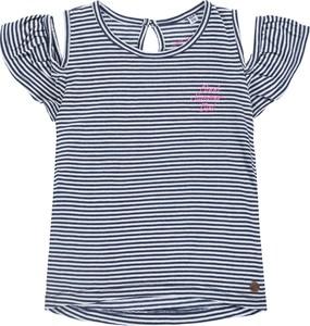 Koszulka dziecięca Tom Tailor dla dziewczynek z bawełny w paseczki