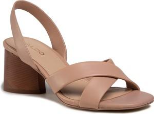 Brązowe sandały Aldo