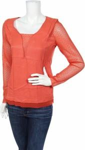 Pomarańczowa bluzka La Petite Française w stylu casual