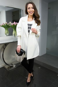 Płaszcz Ella Boutique w stylu casual