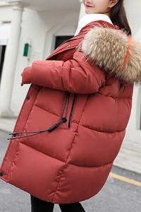 Czerwona kurtka IVET krótka