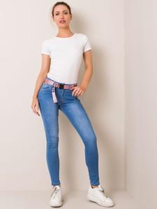 Niebieskie jeansy Sheandher.pl w stylu casual