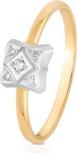 b9c99177586f2c pierścionek połączony z bransoletką. Pierścionek złoty W.KRUK ZWI/PB+317K