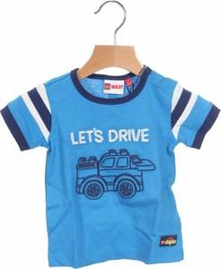 Niebieska koszulka dziecięca Lego z krótkim rękawem