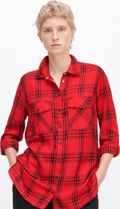 Czerwona koszula Reserved w stylu casual
