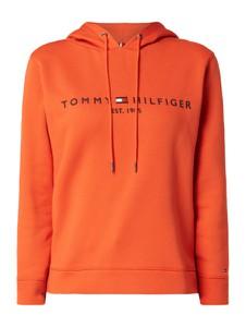 Bluza Tommy Hilfiger krótka z bawełny