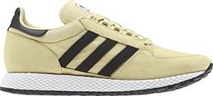 Buty sportowe Adidas z nubuku sznurowane