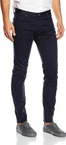 Granatowe jeansy amazon.de