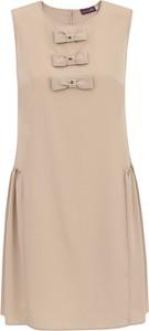 Sukienka Premiera Dona bez rękawów mini
