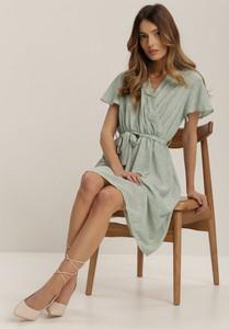 Sukienka Renee w stylu casual z krótkim rękawem mini