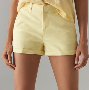 Żółte szorty Mohito